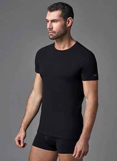 Dagi Compact O Yaka T-Shirt Siyah